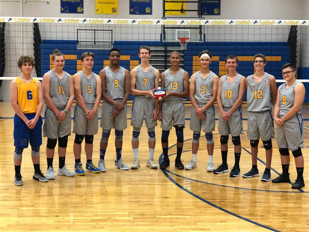 Boys Volleyball Lions