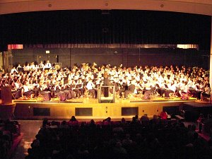 Lockport Community Band, LHS Wind Ensemble, LHS Concert Band, EMBS Symphonic Band, NPMS Symphonic Band