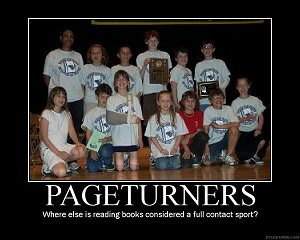 PageTurners Elementary Team Champions 2008